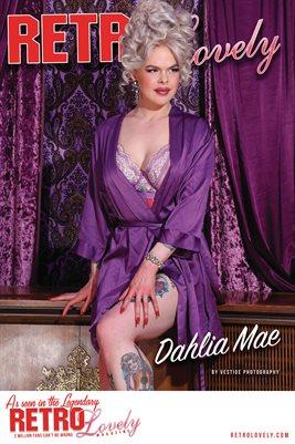 Retro Lovely No.154 – Dahlia Mae Cover Poster