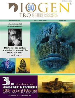 DIOGEN pro culture magazine No 90, October 2018