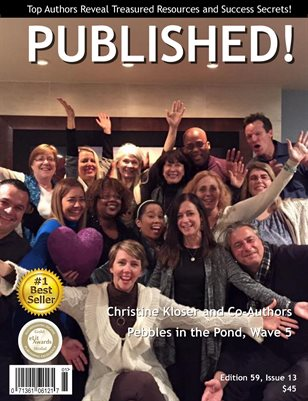 PUBLISHED! Magazine featuring Christine Kloser interviews Pebbles in the Pond ~ Wave 5 CoAuthors