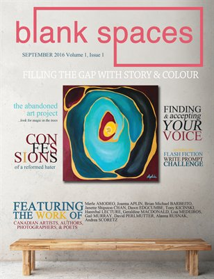 Blank Spaces - September 2016