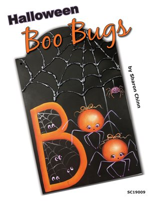Halloween Boo Bugs Painting Pattern by Sharon Chinn SC19009