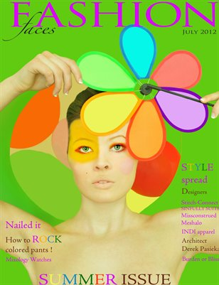 Fashion-Faces Magazine Issue 6 July 2012