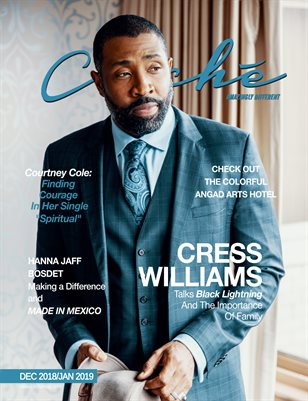 Cliché Magazine Dec 2018/Jan 2019 (Cress Williams)