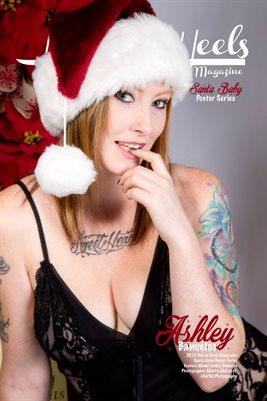 Hell on Heels Magazine Santa Baby Poster Series Ashley Banuelos