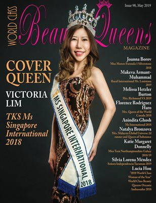 World Class Beauty Queens Magazine Issue 98 Victoria Lim