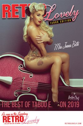 Jenna Beth Taboo Best of 2019 Cover Poster