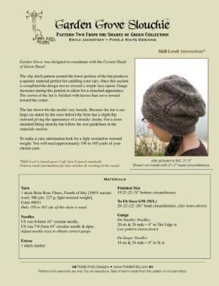Garden Grove Slouch Hat