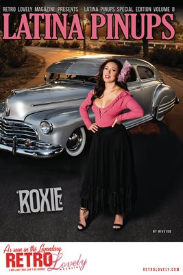 Latina Pinups Special Edition Vol.8 – Roxie Cover Poster