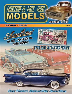 Kustom and Hot Rod Models 2018 Annual #23