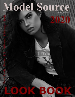 Model Source magazine 2020 Annual Look Boon