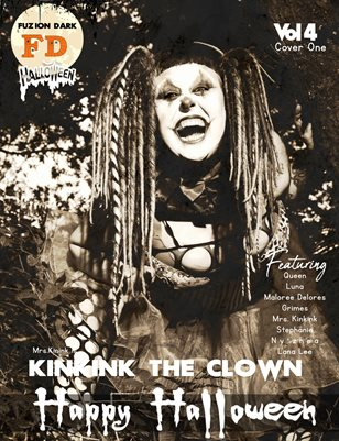 Fuzion Dark : Mrs. Kinkink Halloween 2020 Vol.4  Cover 1