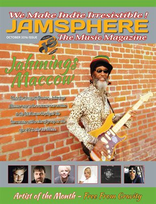 Jamsphere Indie Music Magazine October 2016