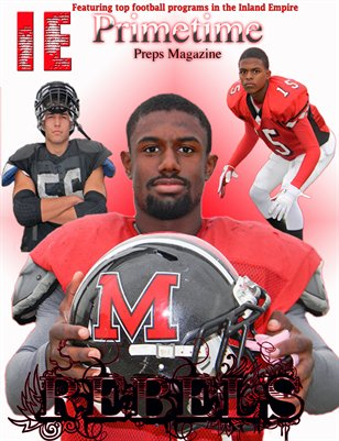 Inland Empire Prime Time Preps Magazine A.B. Miller Football Edition April 2012