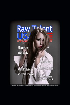 Raw Talent USA Cover Print #1