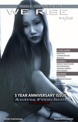 We Rise Mag March 2016 Anniversary Issue#63