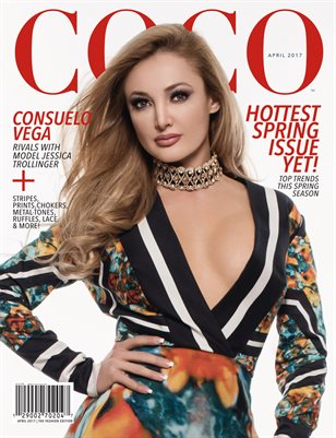 COCO Fashion Magazine Featuring Consuelo Vega