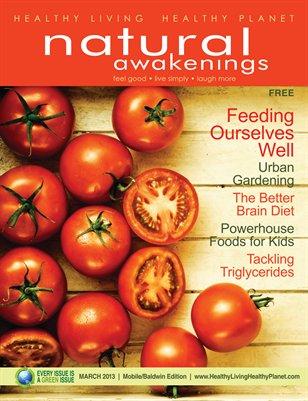 March 2013: Food & Garden