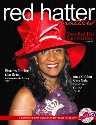 Red Hatter Matters, 2014 Summer issue