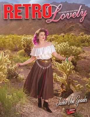 Viva Las Vegas 2019 Volume 3 – Jackie Von Spankes Cover
