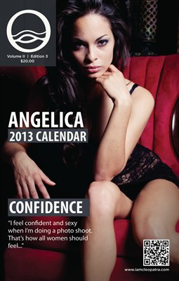 Angelica - I AM CLEOPATRA 2013 Calendar