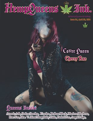 HempQueens Ink. Magazine ~ Issue 24 ~ Cherry Rae