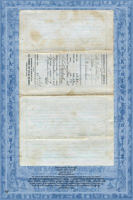 (PAGES 1-2) NO.267 WARRANTY DEED, W.H. WILLIS TO G.M. BRIDGES, HARDIN COUNTY, TENNESSEE