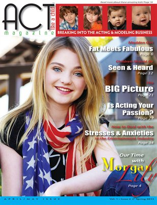 ACT Like A Child Magazine Issue 4