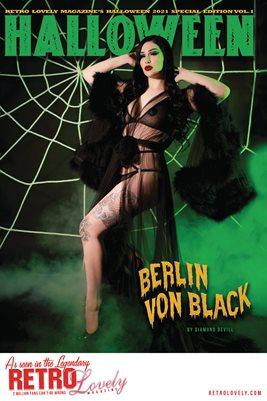 Halloween 2021 Vol.1 – Berlin Von Black Cover Poster