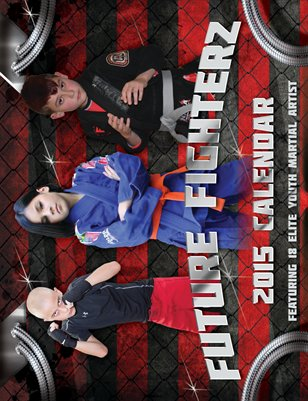 2015 Future FighterZ Calendar #2