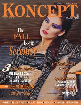 Koncept Magazine October 2015