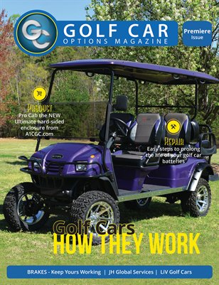 Golf Car Options Magazine - August 2016