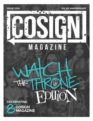 Issue 26 | Watch The Throne