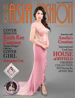 World Class Asia Fashion Magazine Issue 1 with Keith Kee Couture