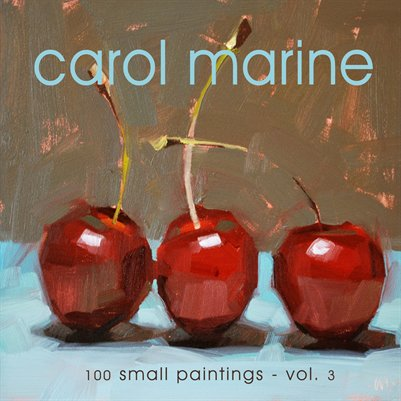 CAROL MARINE - 100 small paintings, vol.3b -