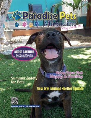 Paradise Pets Magazine, Key West FL Vol. 2 Issue 3