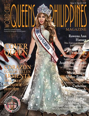 World Class Queens of Philippines Magazine Issue 4 with Corazon Ugalde Yellen Armenta