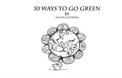 10 ways to go green