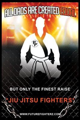 All Dads are created equal - Jiu Jitsu Poster