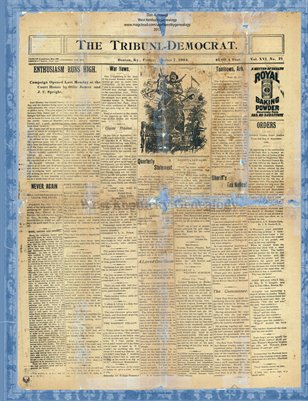 (Magazine size) The Tribune Democrat, Oct. 7, 1904, Benton, Marshall County, KY