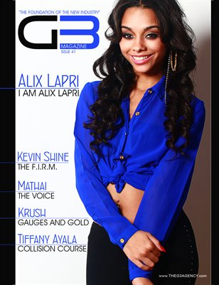 G3 Magazine Issue 41 (Alix Lapri Cover)