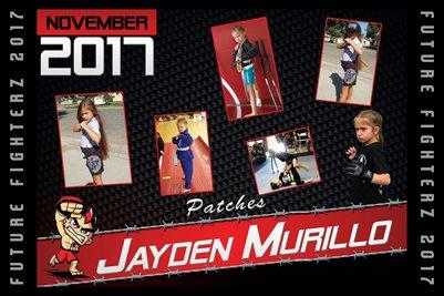 Jayden Murillo Cal Poster 2017