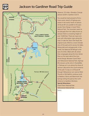 US Route US Route Road Trip Map Book MagCloud - Us route 89 map
