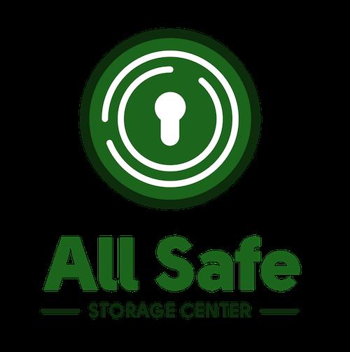 Logo for All Safe Storage Center, click to go home