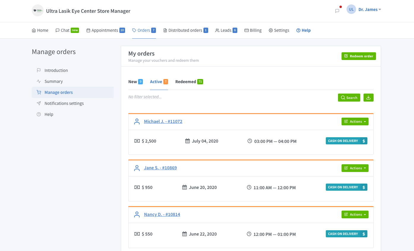 Order Management System and Integration with Stripe