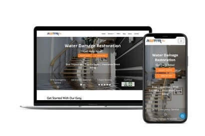 water-damage-restoration-website-design