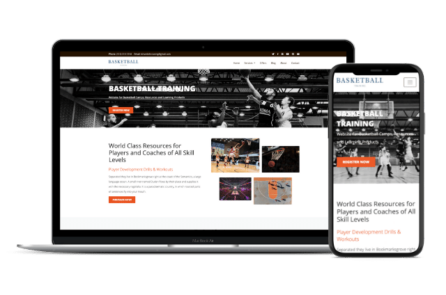 Basketball Website Templates