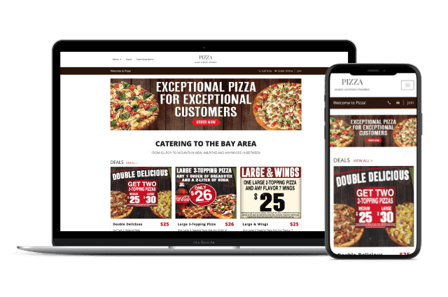 Pizza Website Templates