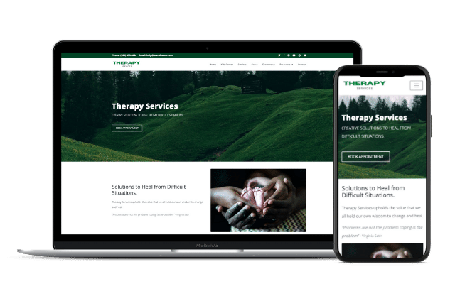 Therapy Website Templates