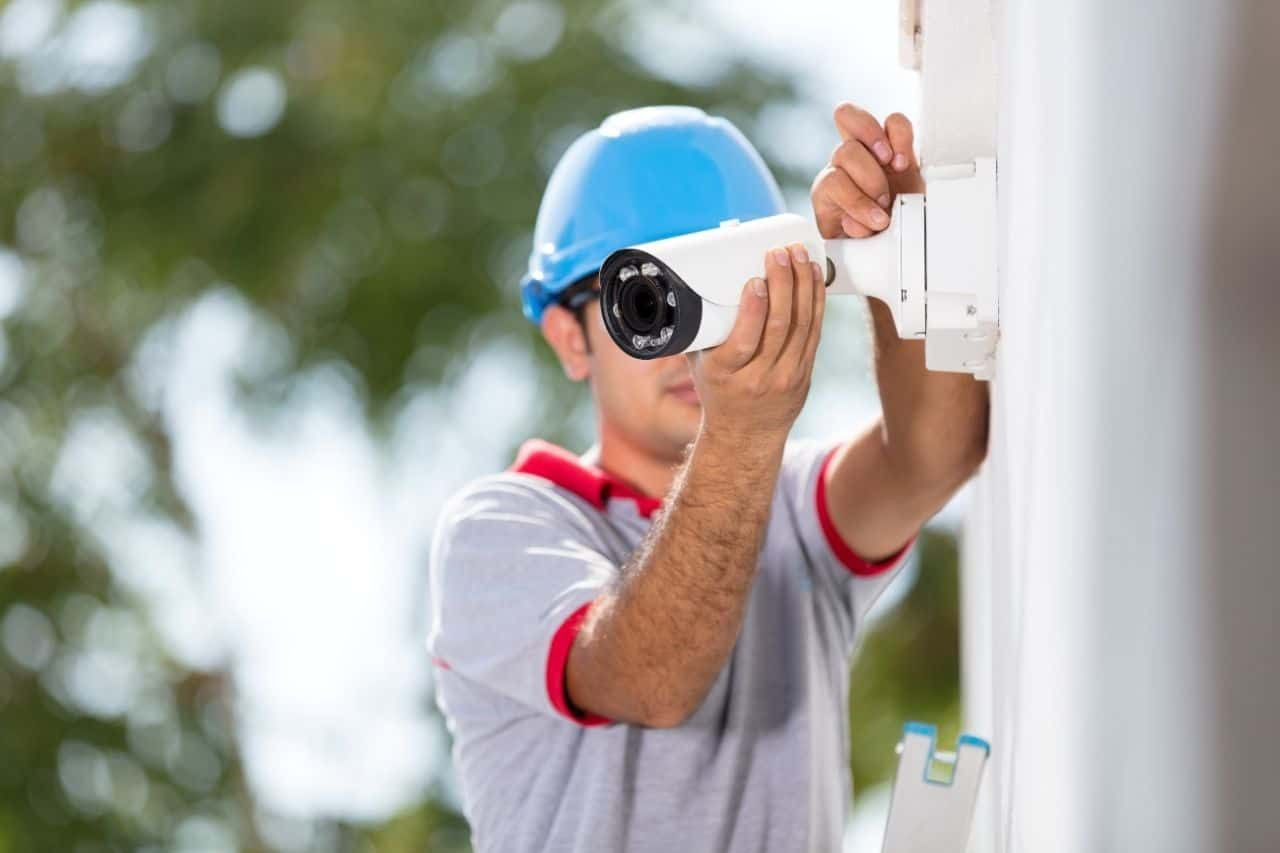 Security camera installation services in houston tx