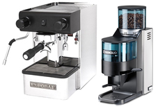 Expobar office pulser and rancilio rocky
